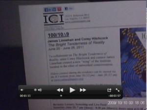 Institute of Cultural Inquiry 100/10∆9