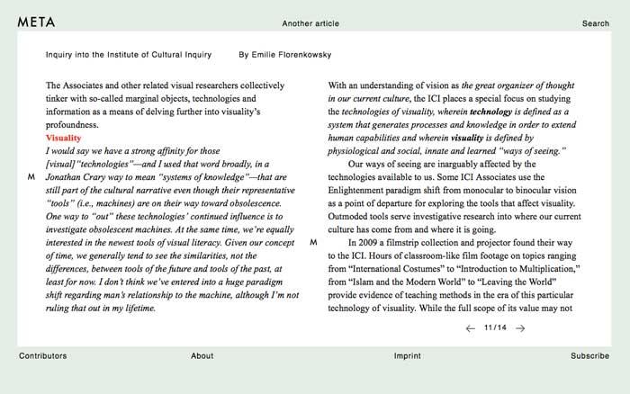 META journal article at ICI 12